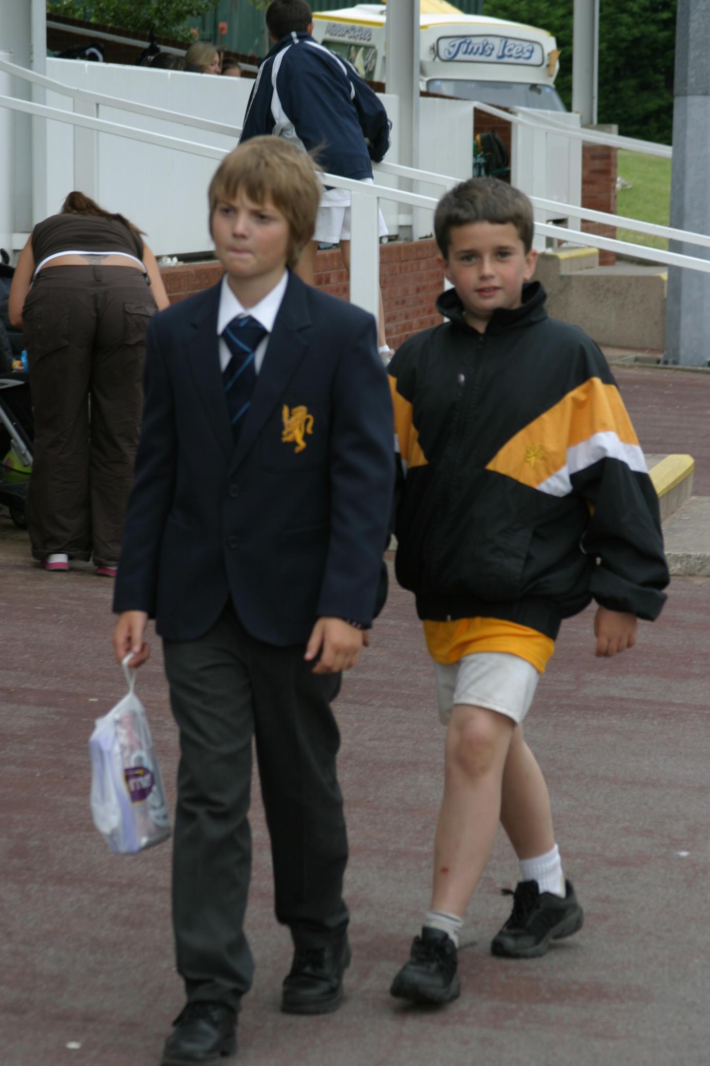 Jake Roden & Tom Murray Sports Day 2005.JPG