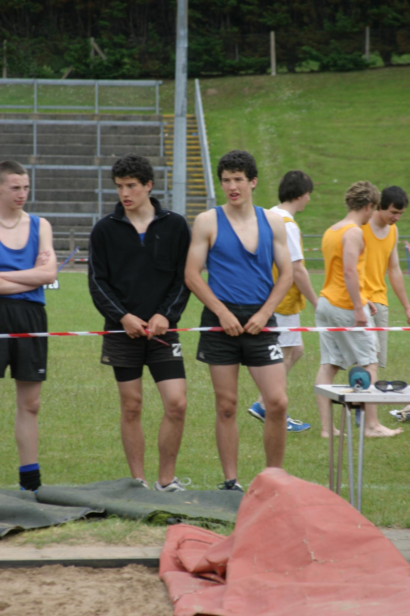 The Chambers twins Sports Day 2005.JPG